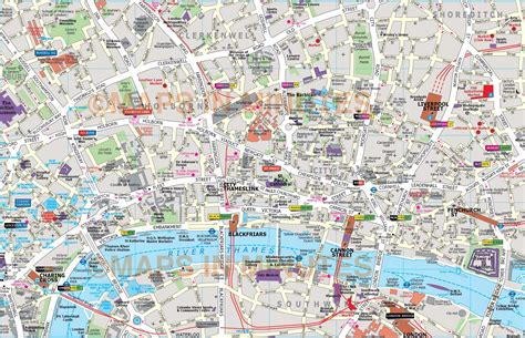 printable map london city centre deluxe london city map in illustrator editable vector format