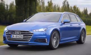 2017 audi a6 avant photos revealed