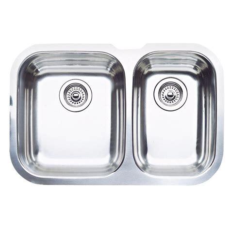 blanco stainless steel undermount sink blanco stellar undermount stainless steel 28 in 0