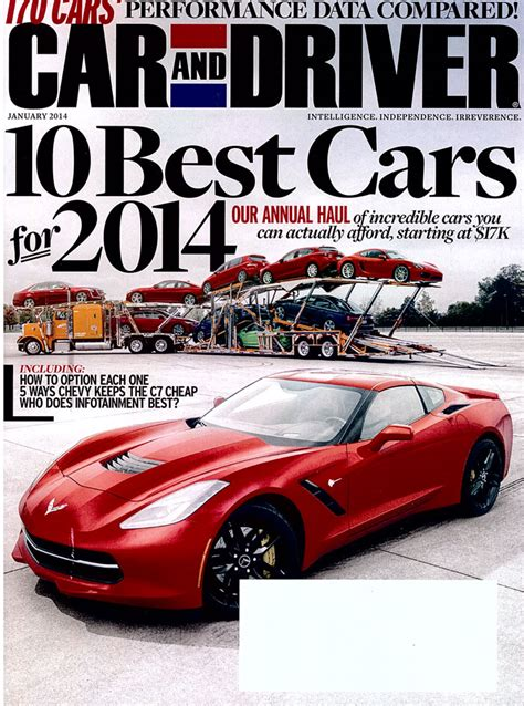 Car And Driver 10 Best 2017 by Car And Driver 10 Best 2018 Motavera