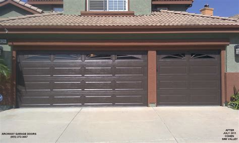 Brown Garage Door by 17 Brown Garage Doors With Windows Hobbylobbys Info