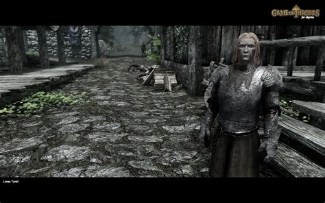 mod game of thrones game of thrones followers at skyrim nexus mods and