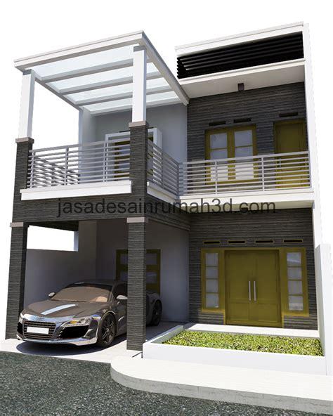 contoh rumah minimalis 2 lantai contoh rumah minimalis