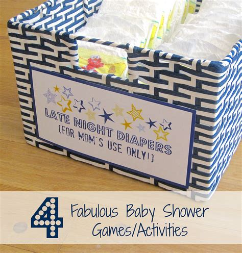 baby shower activity ideas four fabulous baby shower activities driven by decor