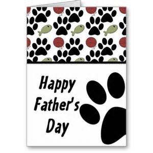 cat lover paw print happy s day card