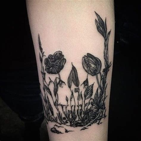 tattoo ink keeps coming out skull flower tattoo the tattoo has a subtle hint of a