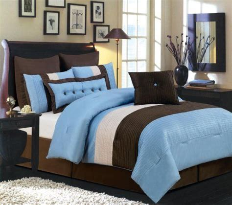 Overstuffed Comforter by Valentino 8 Oversized Comforter Set Blue