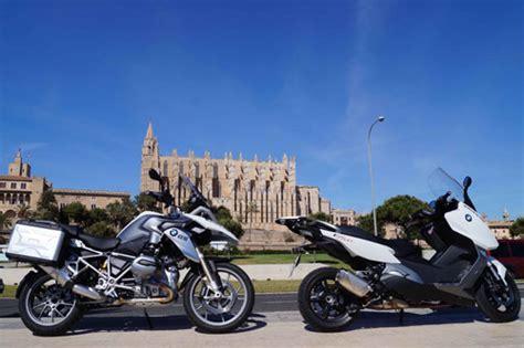 Bmw Motorrad Palma De Mallorca by La Flota De Alquiler De Sixt En Mallorca Con Motos Bmw