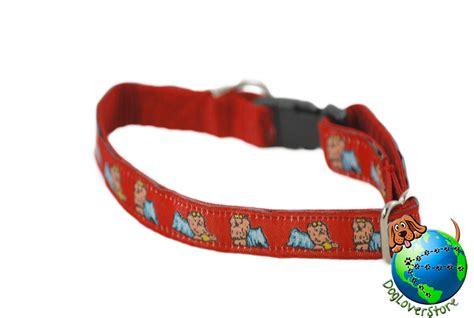 yorkie collars yorkie breed adjustable collar small 7 11 ebay
