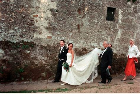 italian tradition of the groom walking his to the church this brides from around