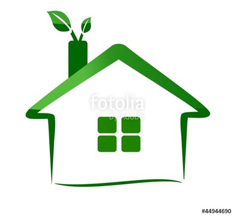 quot eco home logo nature quot stock image and royalty free