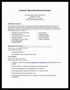 Exles Of Professional Summary For Resumes by Exle Professional Summary For Resume Resume Background Summary Within Exles Of