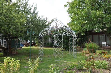 romantik pavillon metall gartenpavillon metall romantik zink 216 290cm