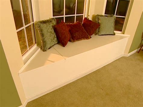 diy channel how to build and install a window seat how tos diy