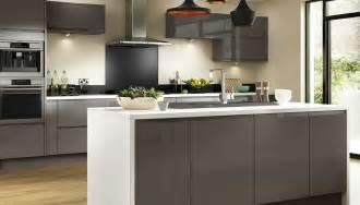 Modern Kitchen Cabinet Handles - gloss grey benchmarx site