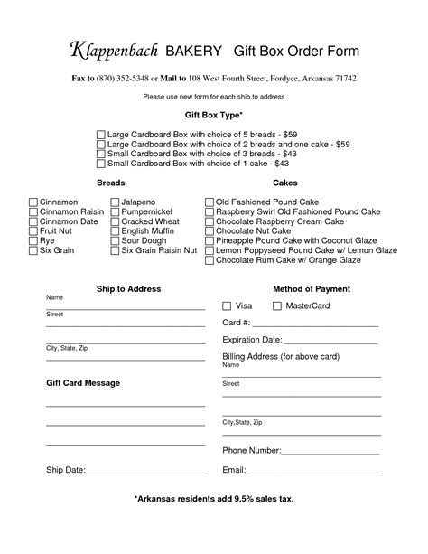 bakery order form template 17 best images of bakery inventory worksheet restaurant