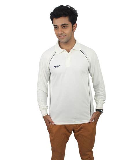 Tk Blouse White Slc tk white polyester t shirt buy tk white polyester t shirt at low price snapdeal
