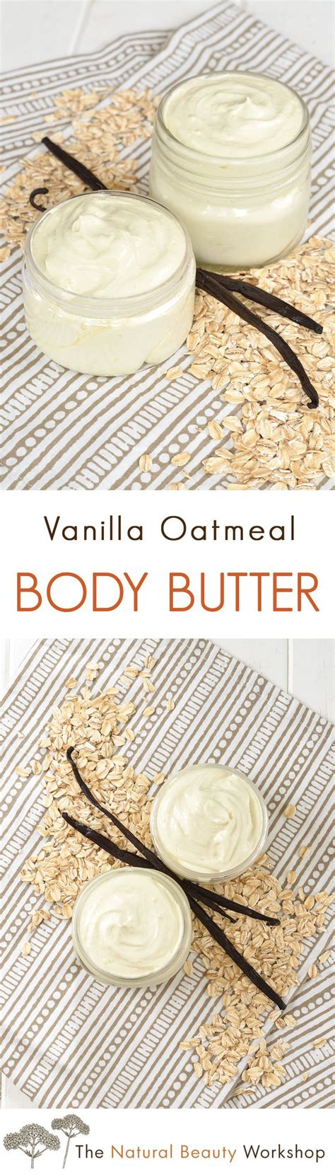 Diy Vanilla Body Butter diy skin care recipes vanilla oatmeal