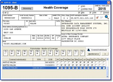 irs section 6050w account abilitys 1095 b user interface w 2 and 1099
