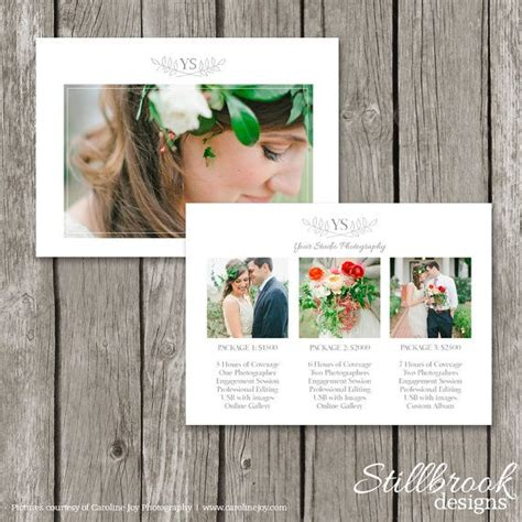 wedding album price list photography packages pricing guide studio price list