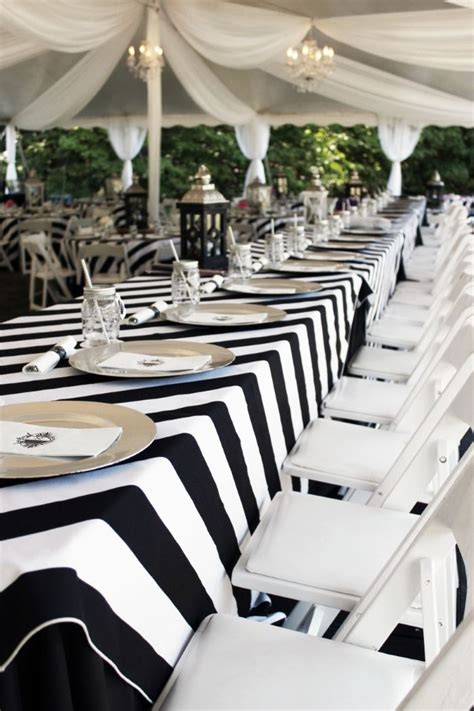 create sophisticated drama with a black tablecloth