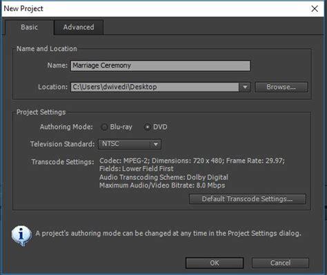 export adobe premiere to encore create a dvd with adobe premiere pro cc and encore cs6