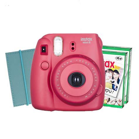 Fujifilm Instax Mini 8 Raspberry fuji instax mini 8 raspberry lite bundle