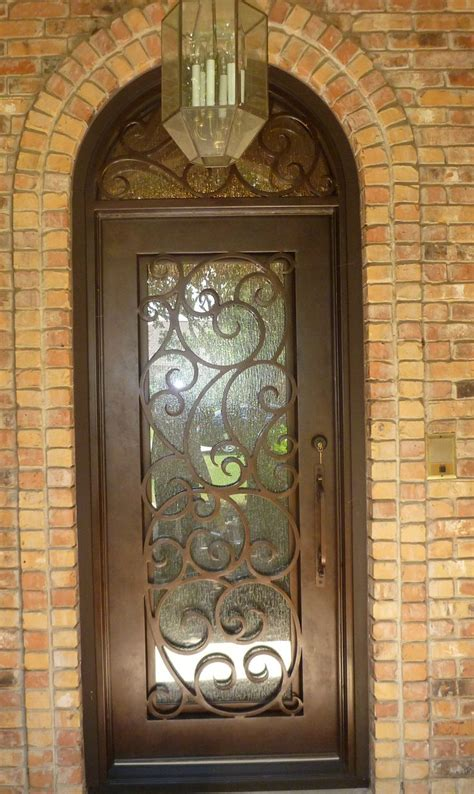 Glass And Iron Doors 10 Best Images About Wrought Iron Doors On Initials Column Design And Arches
