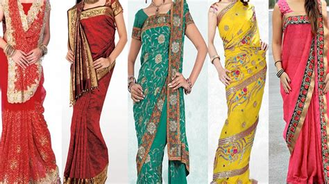 different ways of draping a saree 5 different ways of wearing saree for wedding to look slim