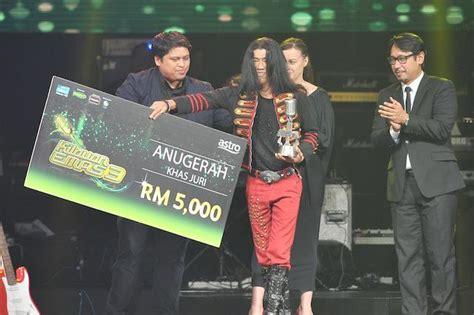 Baju Raja Azura Kilauan Emas mior juara kilauan emas musim ke 3 sensasi selebriti