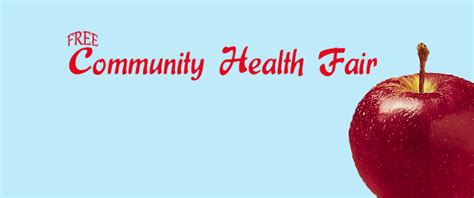 Free Health Fair Giveaways - free community health fair at helena house