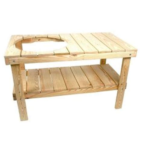 picnic table bench kit yellawood grill table kit ir52x28agt the home depot