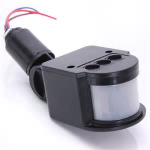outdoor motion detector lights led outdoor 220v infrared pir motion sensor detector wall