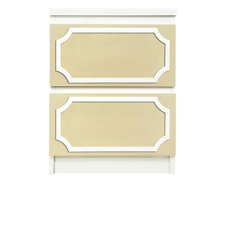 Malm 2 Drawer Chest by O Verlays 7 X14 Kit For Malm 2 Drawer Chest