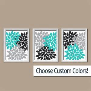 Turquoise Wall Decor by Wall Canvas Artwork Turquoise Black From Trm Design Epic