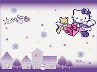 Hello Kitty Wallpaper Pink Cute