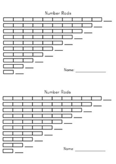number rods montessori printable by montessori