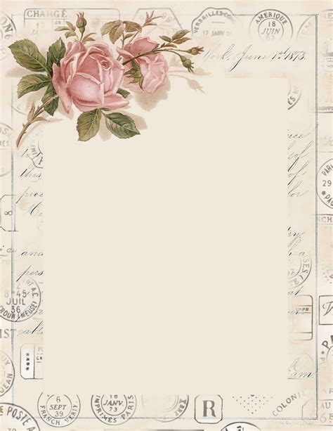 lilac lavender pretty stationery