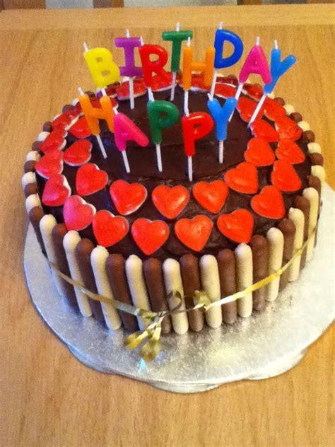cake  cadburys fingers  haribo hearts cake decorations pinterest heart fingers