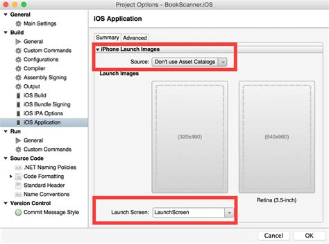 xamarin design guidelines replacing launch images with storyboards using xamarin ios
