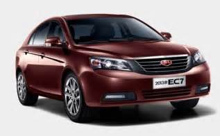 official pictures of 2013 geely emgrand ec7 | chinaautoweb