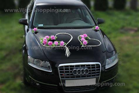 Autodekoration Hochzeit by Foto Autodekoration Hochzeit Mauve Roses Rattanherz