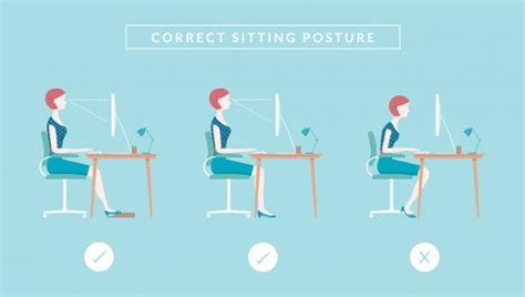 better posture sitting at desk caring for your back in the workplace caba the charity