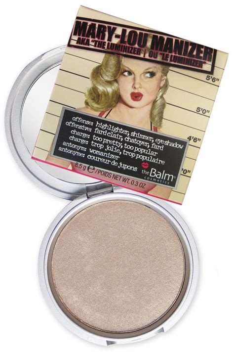 The Balm Manizer Highlighter lou manizer simply makeup