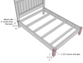 Simple Bed Frame Plans Kaepa Wood Cls How To Use Details