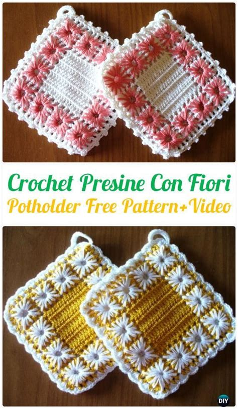 crochet and knit translation on pinterest crochet 25 best ideas about crochet potholders on pinterest