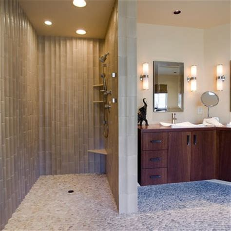 Shower Without Door Or Curtain by Showers Without Doors Design No More Mildewy Curtain