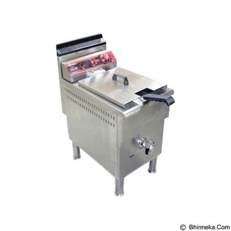 Fry G171 Mesin Penggorengan Menggunakan Gasdeep Fryer Pengorengan jual fomac gas fryer 17l fry g171 cek fryer terbaik bhinneka