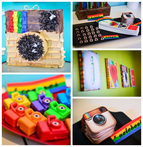 cute themes for instagram kara s party ideas instagram themed joint birthday party