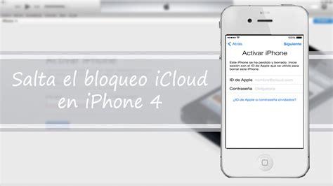 membuat icloud di iphone 4 como saltar el bloqueo icloud en iphone 4 youtube